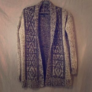 Anthropologie Kaisely long open cardigan small EUC